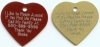 Large Heart Tag - Product Image