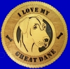 Great Dane Ears Uncropped - Product Image